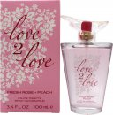 Love2Love Fresh Rose + Peach Eau de Toilette